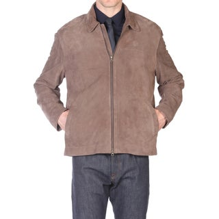 Tatto di Pelle Taupe Goatsuede Jacket