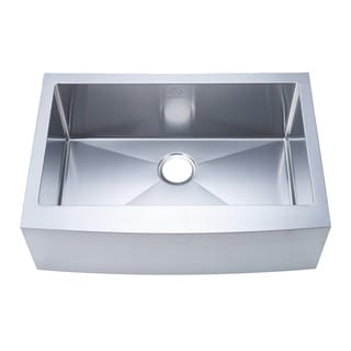NationalWare Apron Farmhouse Stainless Steel 30-inch Single Bowl Stainless Steel Kitchen Sink