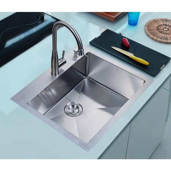 Shop Nationalware 25 Inch Satin Stainless Steel Overmount