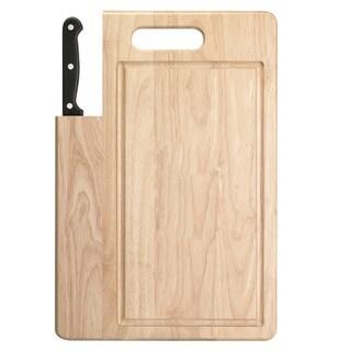 Ginsu Essential Series 7-inch Santoku Knife with Cutting Board