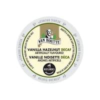 Van Houtte Vanilla Hazelnut Decaf Coffee K-Cup Portion Pack for Keurig Brewers