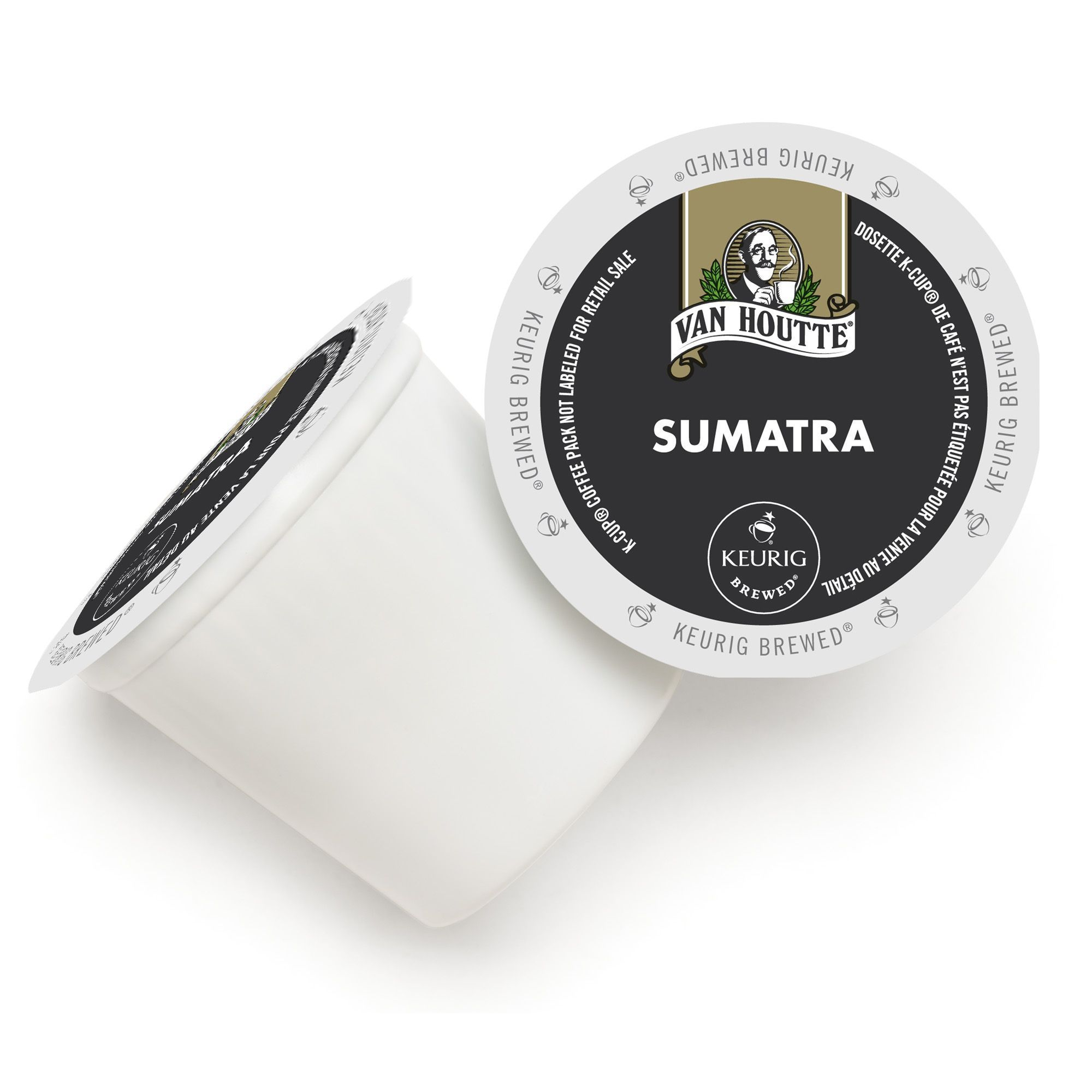 Van Houtte Sumatra Fair Trade Extra Bold K-Cup Portion Pa...