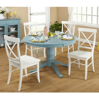 Simple Living 5-piece Arianna Pedestal Dining Set