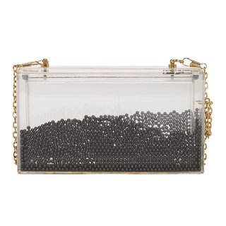 Pink Haley Eye Candy Clutch
