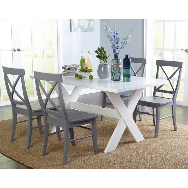 Simple living 5 piece sumner dining set free shipping for Living room 5 piece sets