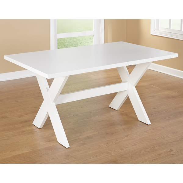simple living sumner dining table free shipping today overstock