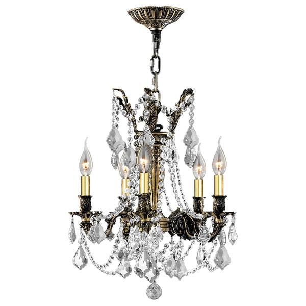 Italian elegance collection 5 light antique bronze finish crystal italian elegance collection 5 light antique bronze finish crystal ornate chandelier 18 aloadofball Image collections