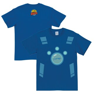 Wild Kratts Creature Power Suit Royal Blue Adult T-Shirt