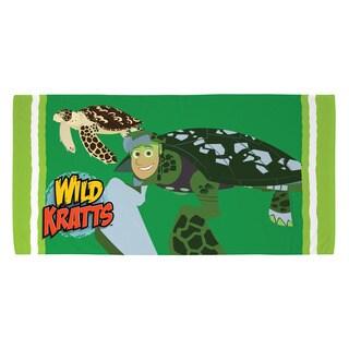 Wild Kratts 28-inch x 56-inch Sea Turtle Beach Towel