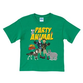 Wild Kratts Party Animal Green T-Shirt