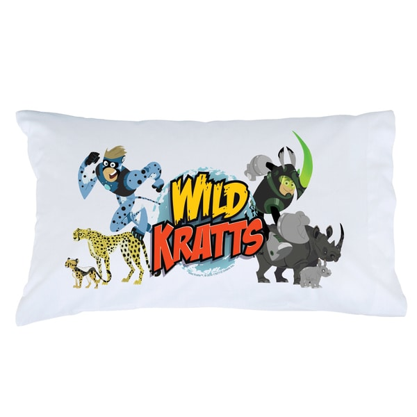 Wild Kratts Creature Power Pillowcase