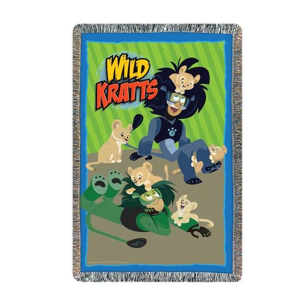Wild Kratts Lion Around Throw - 54 x 38