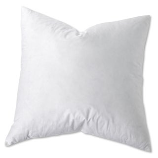 Hybrid Euro Square Cotton Pillow (Set of 2) - White (3 options available)