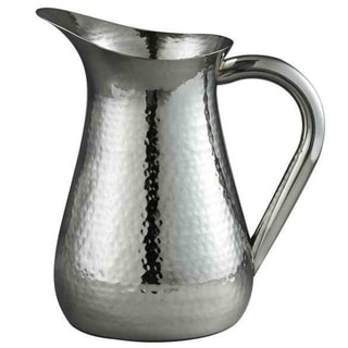 Elegance Hammered Water Pitcher