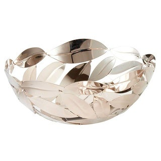 Elegance Round Leaves Basket