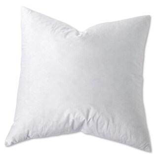 White Goose Feather and Down Euro Square Pillow (Set of 2) (2 options available)