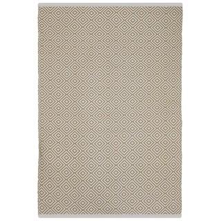 Veria Almond/ White Area Rug (2' x 3')