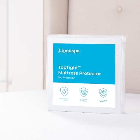 TopTight Premium Mattress Protector by Linenspa Essentials - White