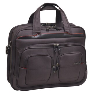 Traveler's Club Flex-File 17-inch Briefcase with 13-inch Laptop Compartment