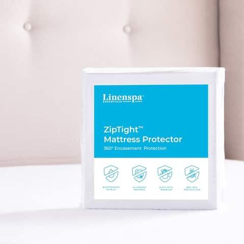 Linenspa Essentials ZipTight Encasement Mattress Protector