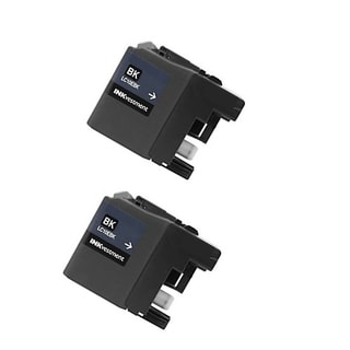 2 PK LC10EBK XXL Compatible Ink Cartridge For Brother MFC-J6925DW Printer (pack of 2)