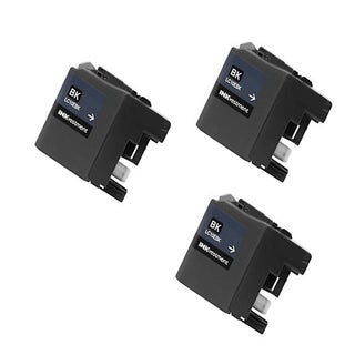 3 PK LC10EBK XXL Compatible Ink Cartridge For Brother MFC-J6925DW Printer (pack of 3)