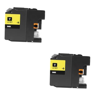 2 PK LC10EY XXL Compatible Ink Cartridge For Brother MFC-J6925DW Printer (pack of 2)