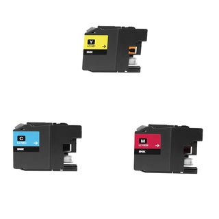 3 PK LC10E (C M Y) XXL Compatible Ink Cartridge For Brother MFC-J6925DW Printer (pack of 3)