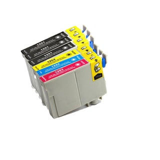 6PK 3xT1251 + T1252 T1253 T1254 Compatible Ink Cartridge For Epson 320 323 325 520 (pack of 6)