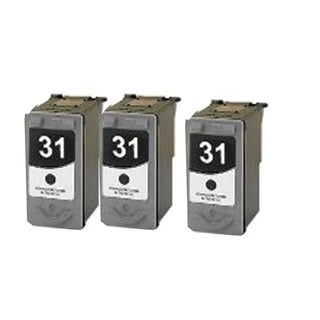 3 Pack PG-31 Compatible Ink Cartridge For Canon Pixma MP210 MP140Pixma (pack of 3)
