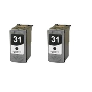 2 Pack PG-31 Compatible Ink Cartridge For Canon Pixma MP210 MP140Pixma (Pack of 2)