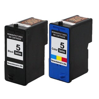 2PK M4640 + M4646 Black & Color Compatible Ink Cartridge For Dell 922 924 942 944 (pack of 2)