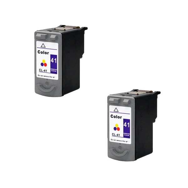 2 Pack Cl-41 Color Compatible Ink Cartridge For Canon Pixma MP140 Pixma MP150 Pixma MP160 (pack of 2)