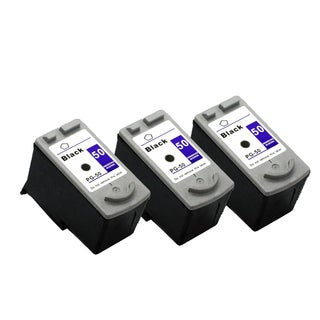 3 Pack PG-50 Black Compatible Ink Cartridge For Canon MP150 160 170 (pack of 3)