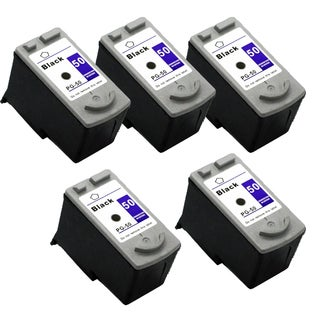 5 Pack PG-50 Black Compatible Ink Cartridge For Canon MP150 160 170 (pack of 5)