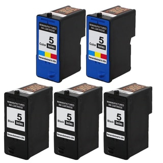 5PK 3 x M4640 + 2 x M4646 Black & Color Compatible Ink Cartridge For Dell 922 924 942 944 (pack of 5)
