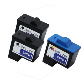 3PK 2 x T0529 + T0530 Black & Color Compatible Ink Cartridge For Dell Photo 720 A920 (pack of 3)