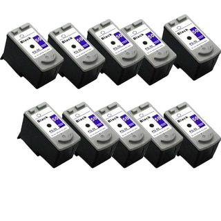 10 Pack PG-50 Black Compatible Ink Cartridge For Canon MP150 160 170 (pack of 10)