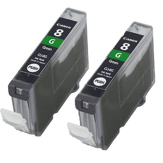 Canon CAN-CLI-8G Compatible Inkjet Cartridge PIXMA Pro 9000 (Pack of 2)