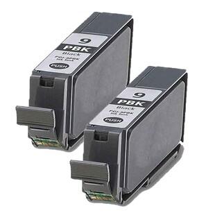 2 Pack PGI-9PBK Photo Black Compatible Ink Cartridge For Canon PIXMA Pro9500 (pack of 2)