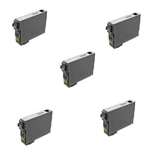 5PK T252XL BK Compatible Ink Cartridge For Epson WF-3640 WF-7110 (pack of 5)
