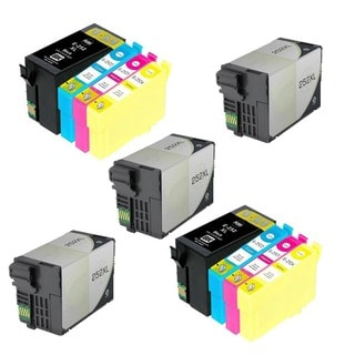 11PK 5XT252XL BK + 2XCMY Compatible Inkjet Cartridge For Epson WF-3640 WF-7110 (Pack of 11)