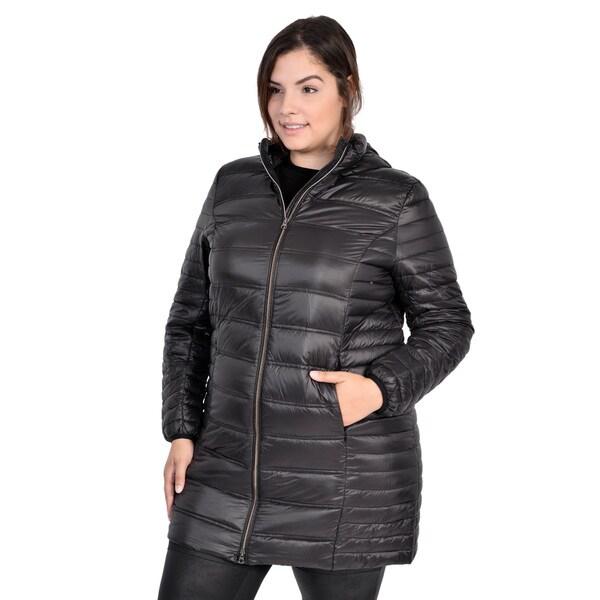 Packable Down Coat ( Plus Size)