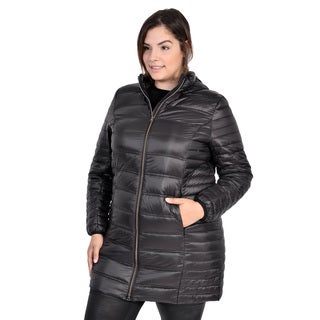 Packable Plus Size Down Coat