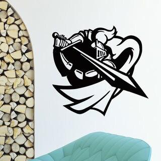 Knight and Sword Vinyl Wall Art Decal Sticker