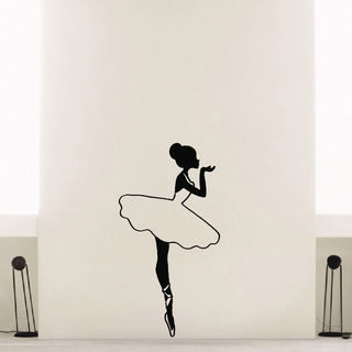 Ballerina Ballet Dancer Vinyl Wall Art Decal Sticker