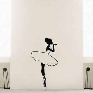 Ballerina Ballet Dancer Vinyl Wall Art Decal Sticker
