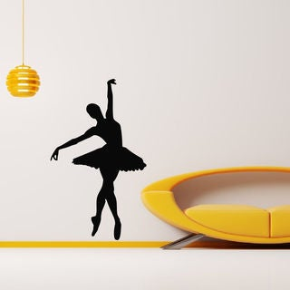 Ballerina Nursery Room Ballet Dancer Vinyl Wall Art Decal Sticker