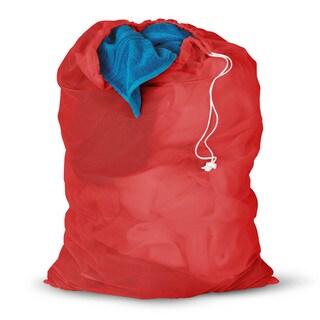 Honey Can Do Red Mesh Laundry Bag 2-pack