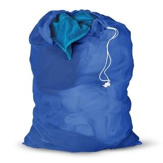 Honey Can Do Blue Mesh Laundry Bag 2-pack